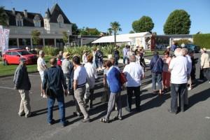 Fig 2 : Devant le casino de La Roche-Posay