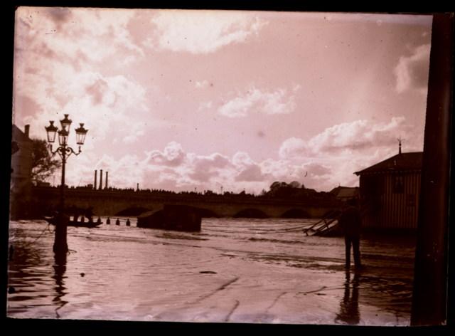 Inondation Bateau Bain