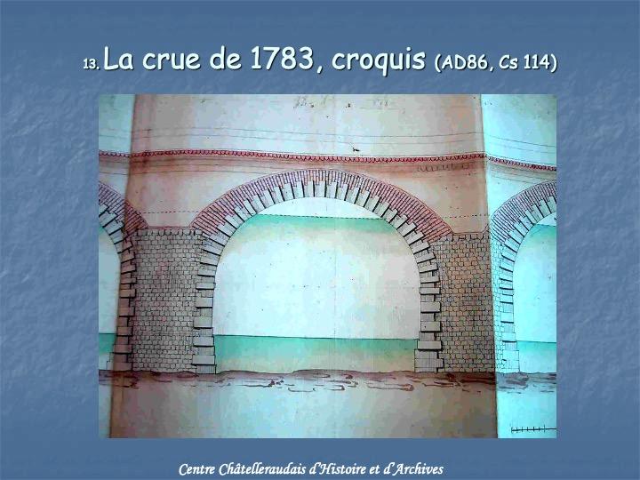 Crue de 1783