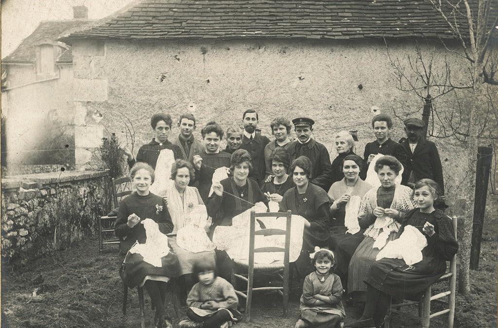 1921 Les ouvrières de M. Lecomte